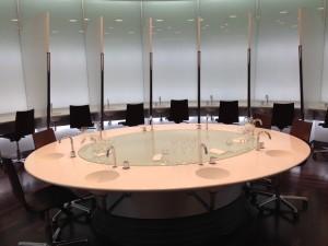 Professional tasting room in the CIVC headquarters