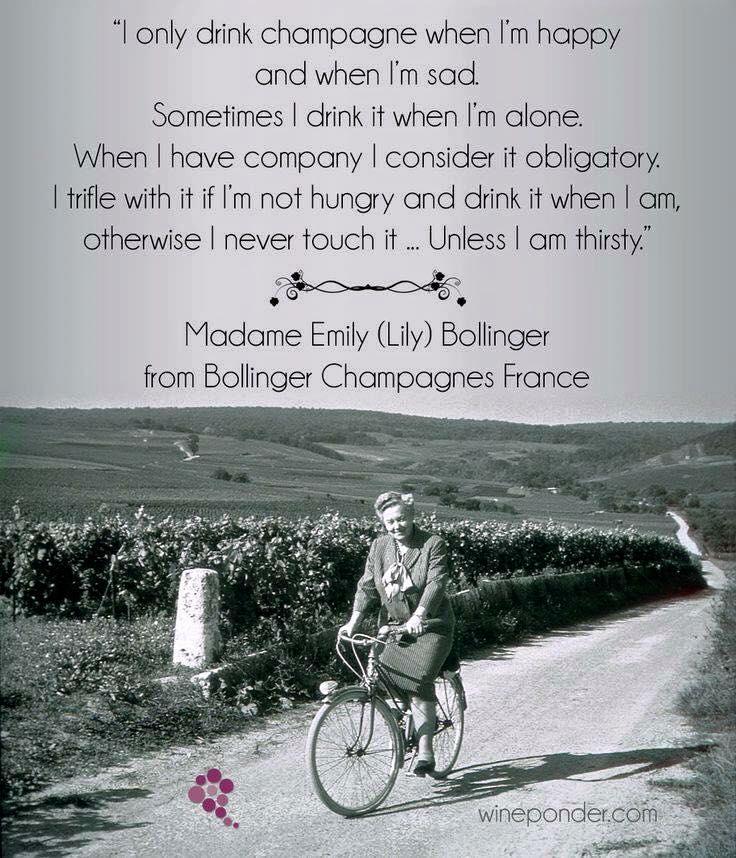 Lili bollinger quote